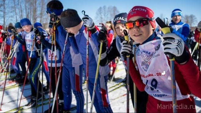 Жители республики выходят на «Лыжню Марий Эл»