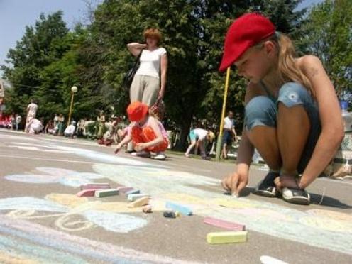 Детская праздничная программа на День России