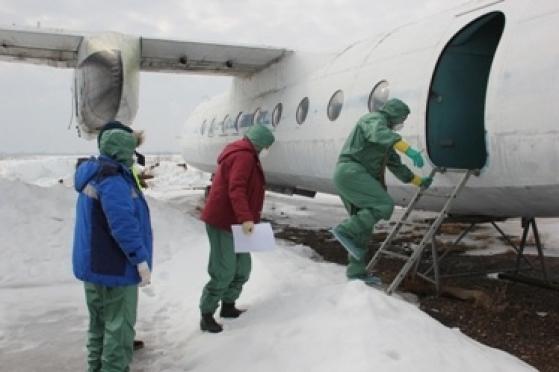 Йошкар-Олинский аэропорт стал местом проведения тактико-специальных учений