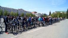 Велосипедисты вытеснили автотранспорт с центральных улиц Йошкар-Олы