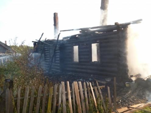 В Марий Эл сгорел жилой дом