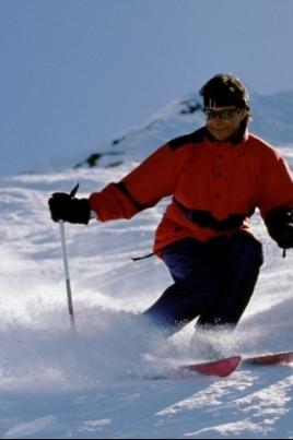 Открытие зимнего спортивного сезона постер