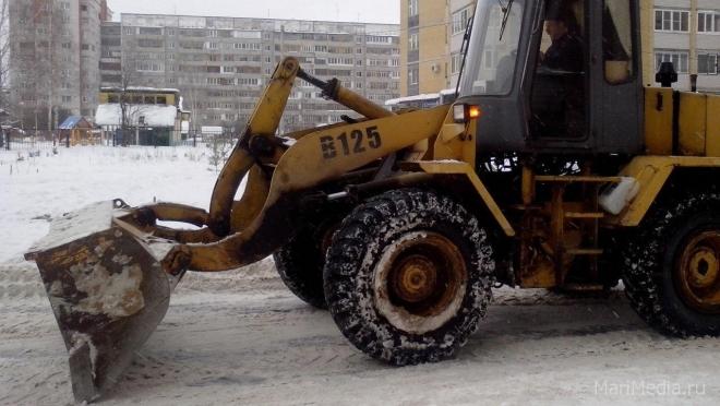 В Йошкар-Оле улица Пушкина две ночи будет закрыта на уборку снега