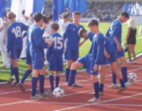 16-летние спортсмены возрождают футбол Марий Эл