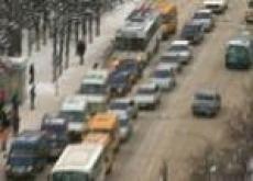 Автомобильная авария парализовала движение в столице Марий Эл