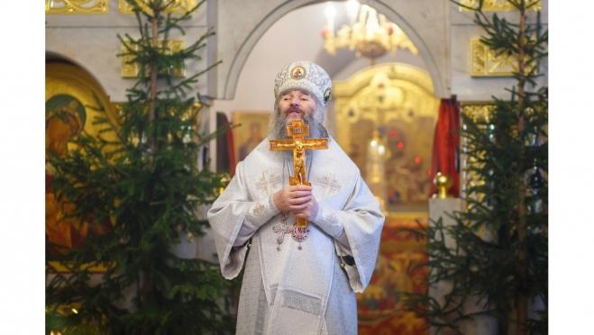 Митрополит Иоанн провёл праздничное богослужение в кафедральном соборе Благовещения Пресвятой Богородицы