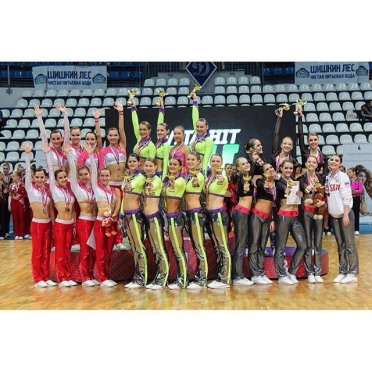 Команды по фитнес-аэробике из Марий Эл выиграли путёвку на Чемпионат Европы