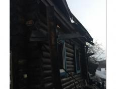 В деревне Озерки на пепелище нашли тело мужчины