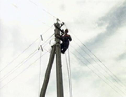 """В Марий Эл продолжаются работы по ликвидации последствий грозовой """"атаки"""""""