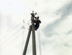 В Моркинском районе гроза оставила без света целую деревню