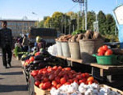 На рынках столицы Марий Эл появилось 300 бесплатных торговых мест