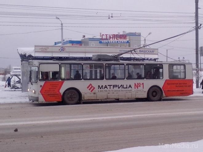 Мэрия Йошкар-Олы не даст встать троллейбусам