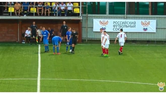 Команда «РМТ» проиграла первый матч на пути к Кубку регионов УЕФА