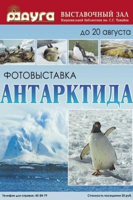 Антарктида постер
