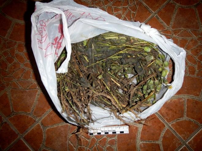 На чердаке жилого дома в посёлке Юбилейный обнаружили 5,5 кг маковой соломки