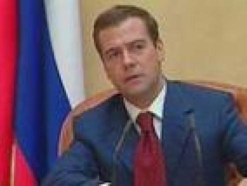 Президент Республики Марий Эл встретился с Дмитрием Медведевым в Кирове