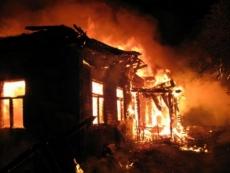 В Горномарийском районе сгорели два дома
