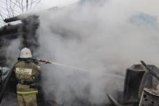В Сернурском районе из-за неисправности печи сгорел жилой дом