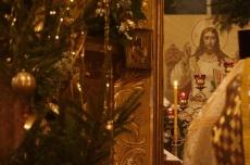 Русская православная церковь отмечает Рождество Христово