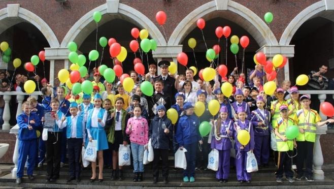 Школьники из Волжска представят Марий Эл в финале Всероссийского «Безопасного колеса»