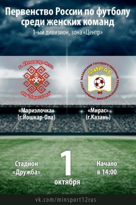 Первенство России по футболу среди женских команд постер
