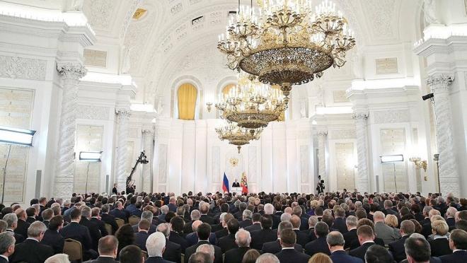 Александр Евстифеев находится в Москве на церемонии оглашения Послания Федеральному Собранию