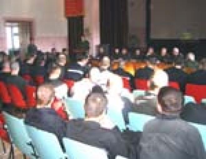 В исправительной колонии №5 прошла неформальная встреча руководителей УФСИН РФ по Марий Эл с заключенными