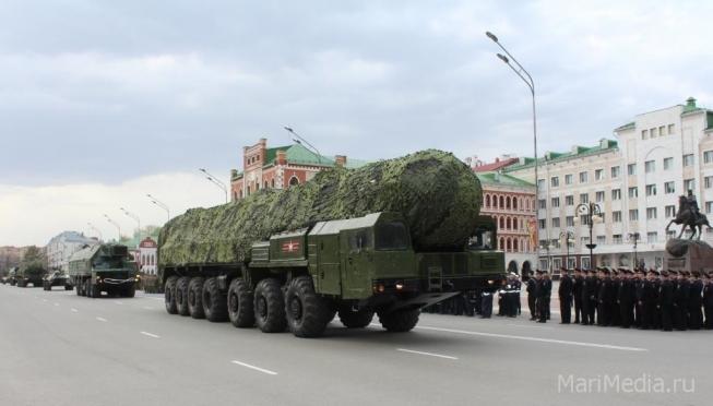 9 мая на улицы Йошкар-Олы выйдет военная техника
