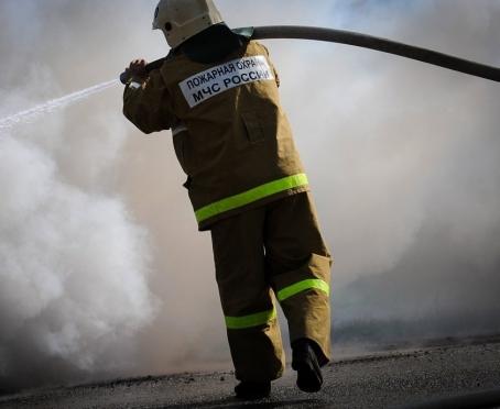 В Сернурском районе на полном ходу загорелась иномарка
