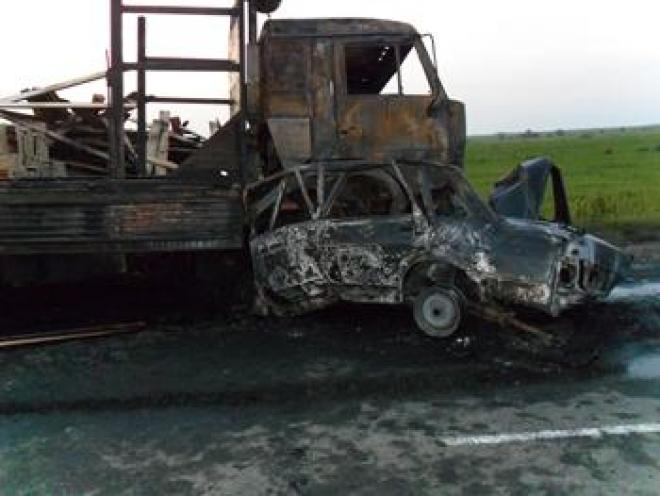 В Марий Эл в ДТП сгорел сотрудник полиции