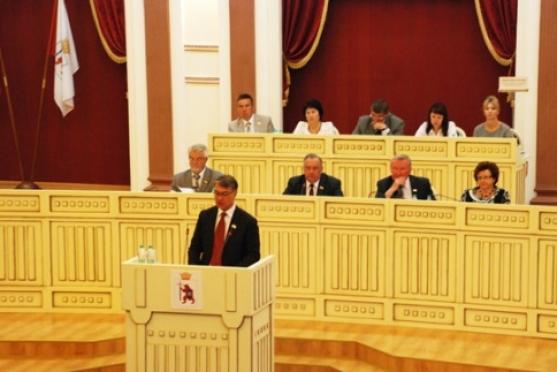 Депутаты Госсобрания Марий Эл пятого созыва собрались вместе в предпоследний раз