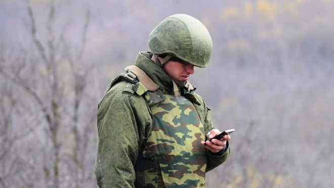 Военным российской армии выдают телефоны стоимостью 115 тысяч рублей