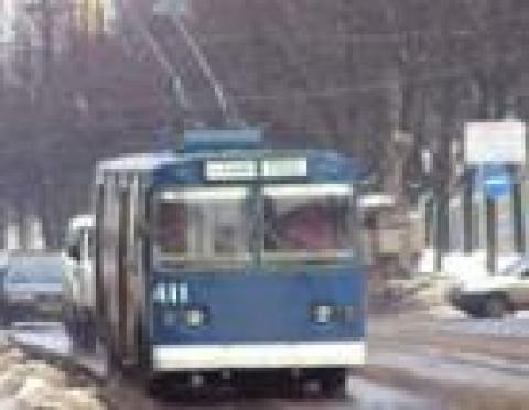 В Сомбатхее (Йошкар-Ола) встали троллейбусы