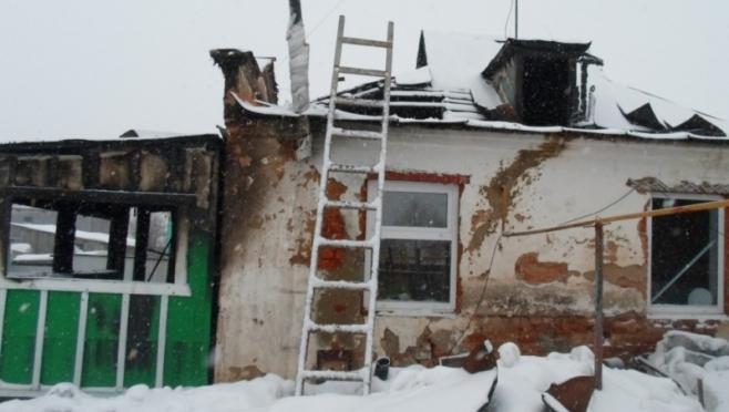 В Параньгинском районе сгорела веранда дома