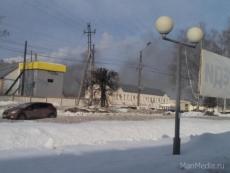 Огонь повредил холодильный цех Йошкар-Олинского мясокомбината