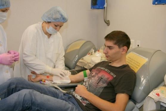 Станция переливания крови ждёт доноров первой группы