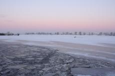 Мартовские морозы не привели к утолщению «коренного» льда на водных объектах Марий Эл