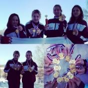 Марийские туристы-лыжники — чемпионы России