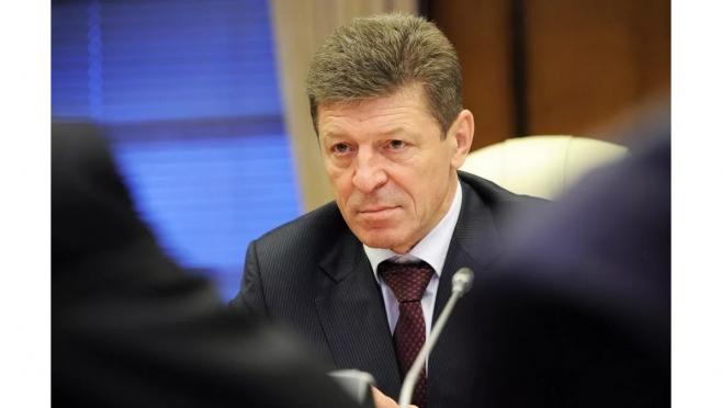 Глава республики Александр Евстифеев принимает участие во встрече с зампредом Правительства РФ Дмитрием Козаком