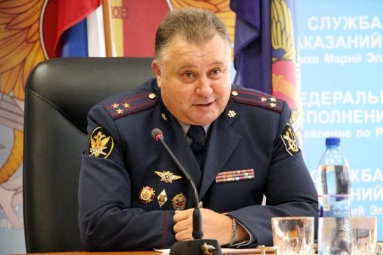 Марийское тюремное ведомство возглавил полковник внутренней службы Сергей Евтушенко