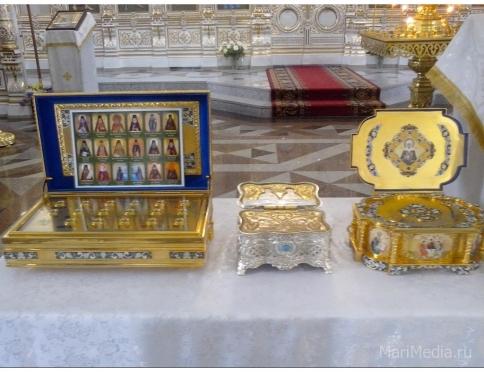 Мощи святой блаженной Матроны Московской в Йошкар-Оле