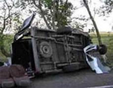 В Марий Эл в крупном ДТП пострадало 16 человек, один из них погиб на месте