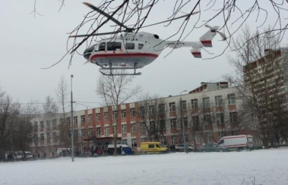 Захватчик заложников в московской школе обезврежен