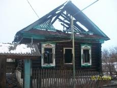 В Звениговском районе в сгоревшем доме нашли обгоревшее тело