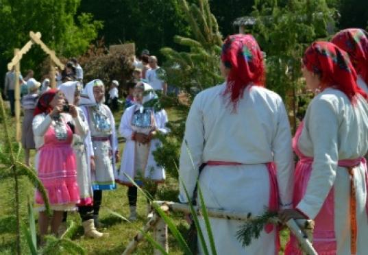 Свадебные марийские обряды покажут сегодня в Морках