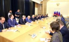 Владимир Путин встретился в Сочи с новоизбранными губернаторами
