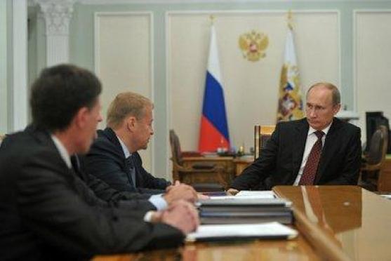 Президент России Владимир Путин встретился с Главой Марий Эл Леонидом Маркеловым
