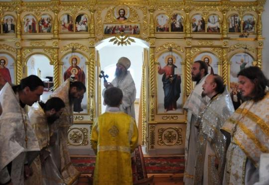 В Горномарийском района освящен храм в честь Вознесения Господня