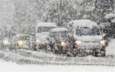 На Йошкар-Олу обрушился снегопад