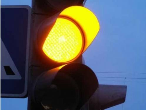 В Йошкар-Оле включили новый светофор